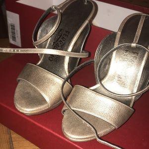 "Authentic ""Gilina"" Salvatore Ferragamo Heels"